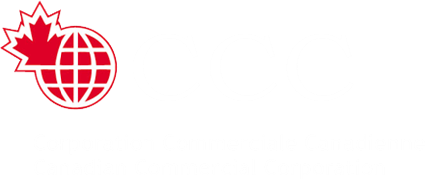 CCC - Logo - White - French