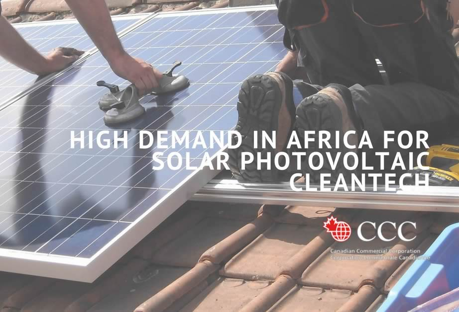EN - High demand in Africa for solar photovoltaic cleantech