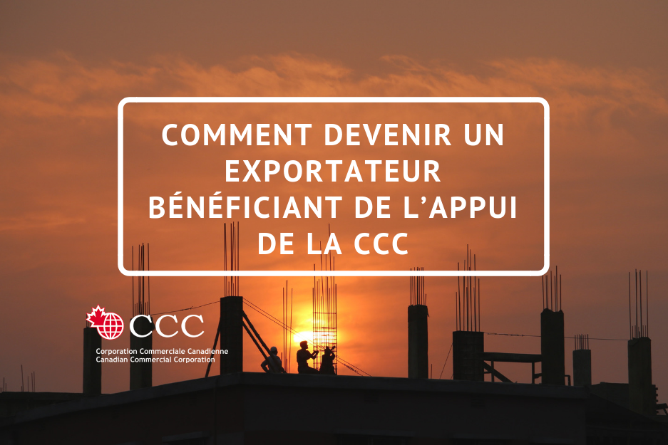 How to become CCC exporter FR