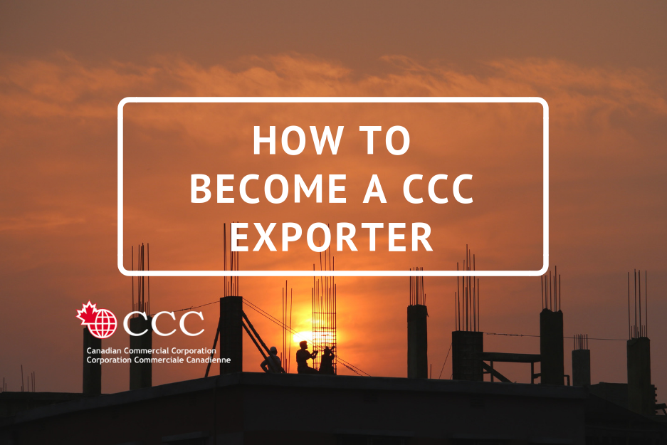 How to become CCC exporter