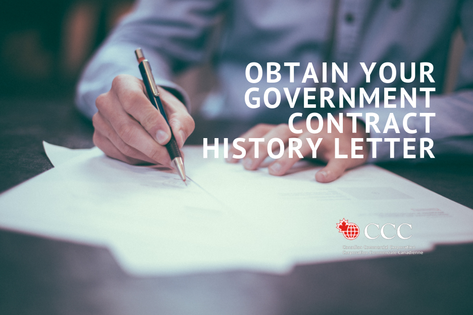 Contract History Letter