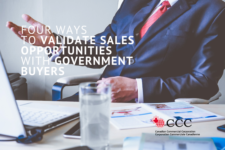 Four ways to validate sales opportunities with government buyers